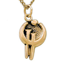 Load image into Gallery viewer, Gold Zinc Allomancer Necklace - Badali Jewelry - Necklace