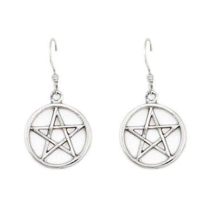 Harry Dresden's Pentacle Earrings - Badali Jewelry - Earrings