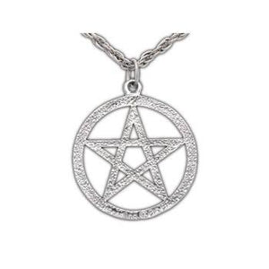 Harry Dresden's Pentacle Necklace - Silver - Badali Jewelry - Necklace