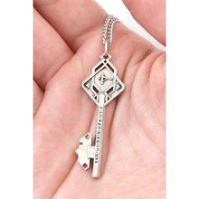 Load image into Gallery viewer, Key of THROR - Necklace - Silver - Badali Jewelry - Necklace