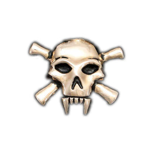 Lady Death Skull Pin - Badali Jewelry - Pin