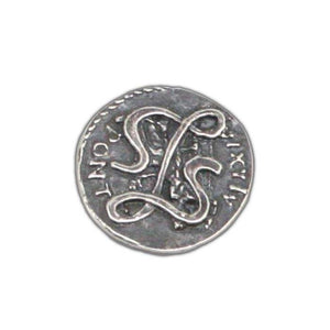 Lasciel's Blackened Denarius - Badali Jewelry - Coin
