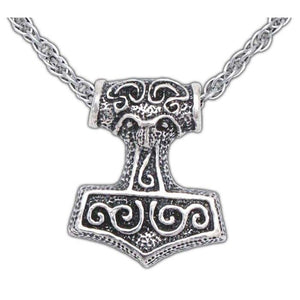 Leif Helgarson's Thor's Hammer - Silver - Badali Jewelry - Necklace
