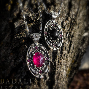 Life and Death Pendants - Badali Jewelry - Necklace