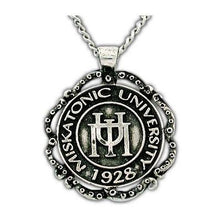 Load image into Gallery viewer, Miskatonic University Class Necklace - Silver - Badali Jewelry - Necklace