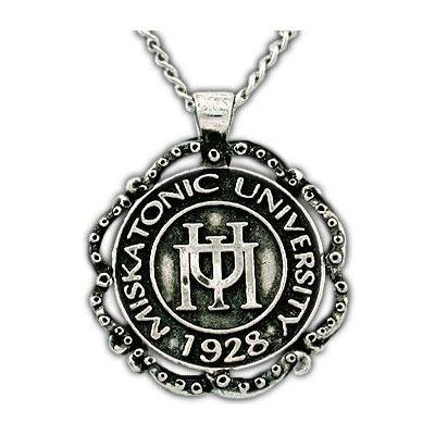 Miskatonic University Class Necklace - Silver - Badali Jewelry - Necklace