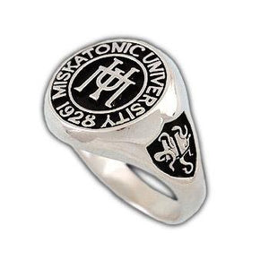 Miskatonic University Class Ring - Badali Jewelry - Ring