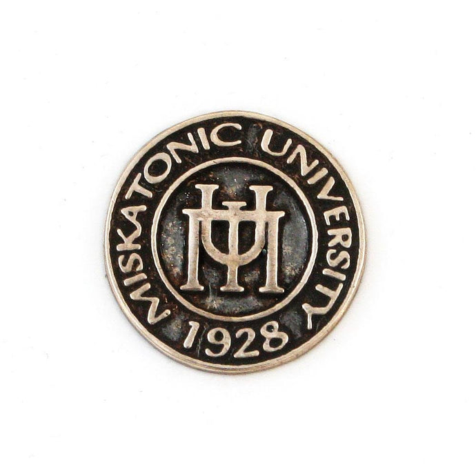 Miskatonic University Pin - Bronze - Badali Jewelry - Pin