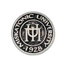 Load image into Gallery viewer, Miskatonic University Pin - Silver - Badali Jewelry - Pin