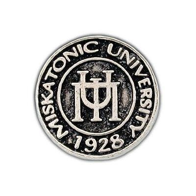 Miskatonic University Pin - Silver - Badali Jewelry - Pin