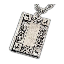 Load image into Gallery viewer, Necronomicon Necklace - Silver - Badali Jewelry - Necklace