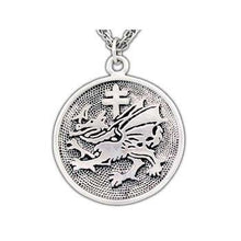 Load image into Gallery viewer, Order of the Dragon Pendant - Badali Jewelry - Necklace