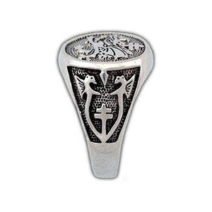 Order of The Dragon Signet Ring - Badali Jewelry - Ring