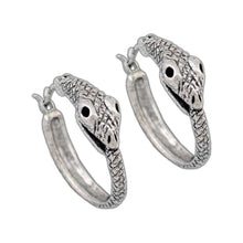Load image into Gallery viewer, Ouroboros Earrings - Badali Jewelry - Earrings