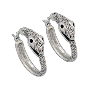 Ouroboros Earrings - Badali Jewelry - Earrings