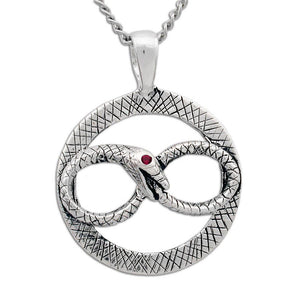Ouroboros Necklace - Badali Jewelry - Necklace