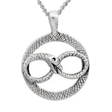 Load image into Gallery viewer, Ouroboros Necklace - Badali Jewelry - Necklace