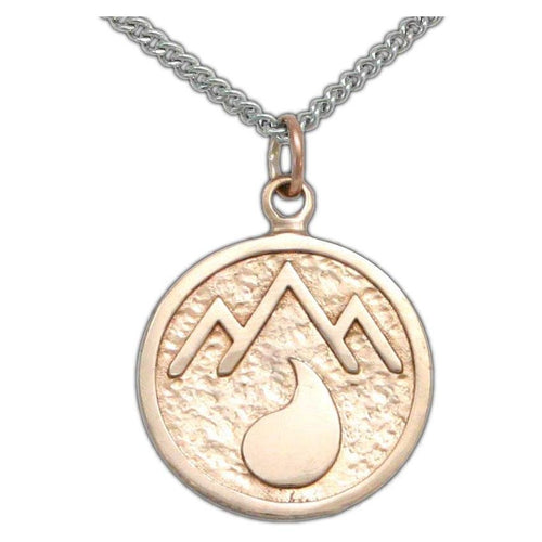 Overstock Adran Flag Pendant - Bronze - Badali Jewelry - Necklace