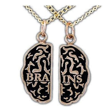 Load image into Gallery viewer, Overstock Brains Friendship Necklaces - Bronze - Badali Jewelry - Necklace
