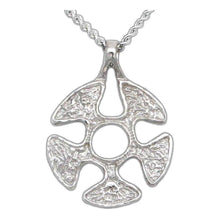 Load image into Gallery viewer, Overstock Flesh Faction Pendant - Silver - Badali Jewelry - Necklace
