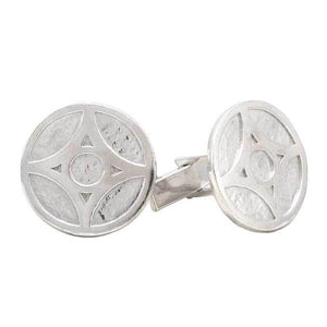 Overstock Grey Empire of Lantern City Cufflinks - Badali Jewelry - Cufflinks