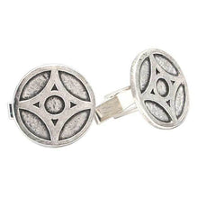 Load image into Gallery viewer, Overstock Grey Empire of Lantern City Cufflinks - Badali Jewelry - Cufflinks