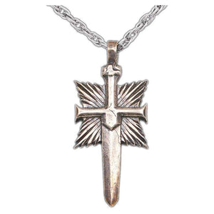 Overstock Shard's Crest Pendant - Badali Jewelry - Necklace