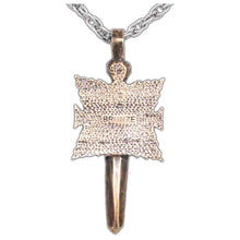 Load image into Gallery viewer, Overstock Shard's Crest Pendant - Badali Jewelry - Necklace