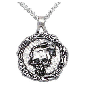 Overstock Spirit Faction Pendant - Silver - Badali Jewelry - Necklace