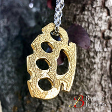 Load image into Gallery viewer, Owen's Brass Knuckles - Badali Jewelry - Necklace