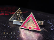 Load image into Gallery viewer, Pink Society Cufflinks - Badali Jewelry - Cufflinks