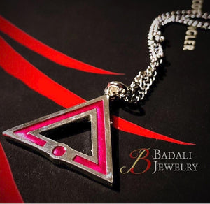 Pink Society Pendant - Badali Jewelry - Necklace