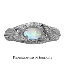 Load image into Gallery viewer, Platinum NENYA™ - The Ring of GALADRIEL™ - Badali Jewelry - Ring