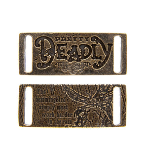 Pretty Deadly Leather Cuff Bracelet & Choker - Badali Jewelry - Tags