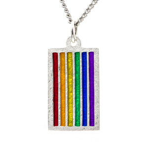PRIDE Flag Necklace - Badali Jewelry - Necklace