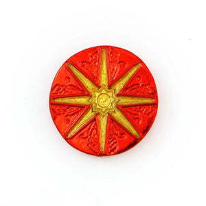 Red London Coin - Royal Mark - Badali Jewelry - Coin