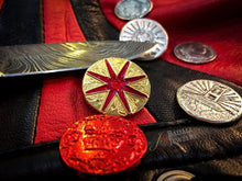 Load image into Gallery viewer, Red London Coin - Royal Mark - Badali Jewelry - Coin