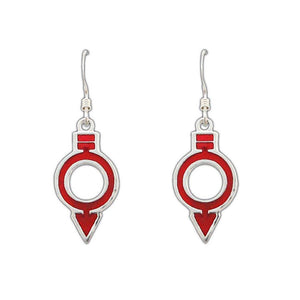 Red Society Earrings - Badali Jewelry - Earrings