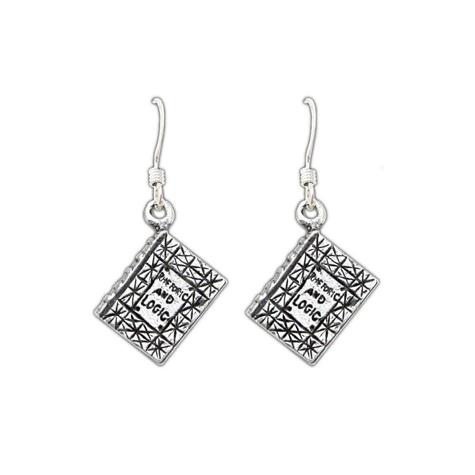 Rhetoric and Logic Earrings - Badali Jewelry - Earrings