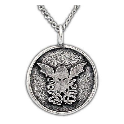 Round Cthulhu Necklace - Badali Jewelry - Necklace