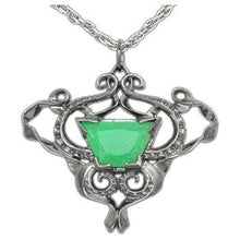 Load image into Gallery viewer, Sea Glass Pendant - Silver - Badali Jewelry - Necklace