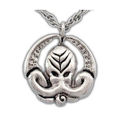 Silver Cthulhu Medallion - Badali Jewelry - Necklace