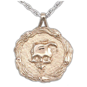 Spirit Faction Medallion - Bronze - Badali Jewelry - Necklace