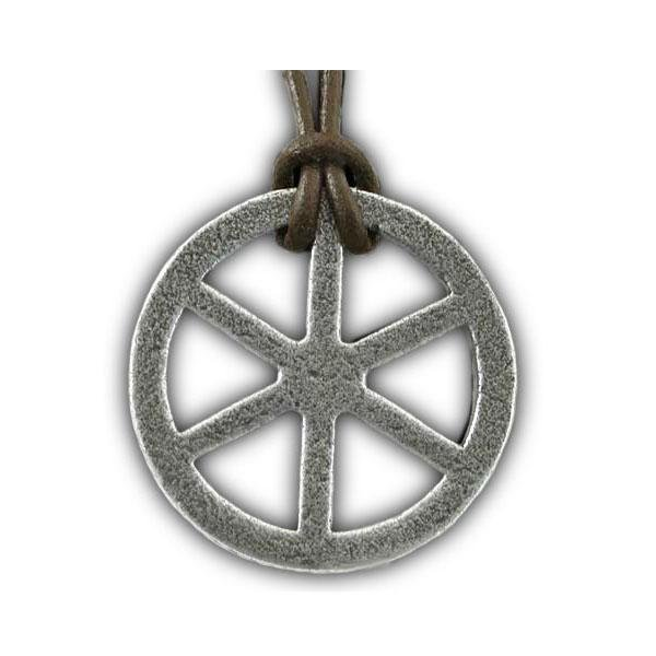 Tehlu's Iron Wheel Necklace - Badali Jewelry - Necklace