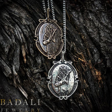 Load image into Gallery viewer, The Ascendant Warrior - Silver - Badali Jewelry - Necklace