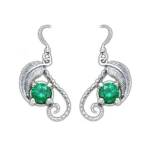 The Emeralds of GIRION - MIRKWOOD™ Elven Earrings - Badali Jewelry - Earrings