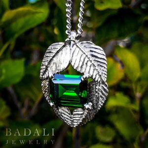 The Emeralds of GIRION - MIRKWOOD™ Elven Necklace - Badali Jewelry - Necklace