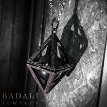 Load image into Gallery viewer, The PALANTIR™ Locket - Badali Jewelry - Necklace