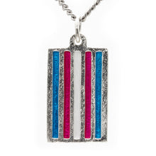 Load image into Gallery viewer, Transgender PRIDE Flag Necklace - Badali Jewelry - Necklace