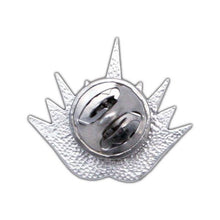 Load image into Gallery viewer, Triple Enamel Lotus Tattoo Pin - Badali Jewelry - Pin